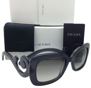 Prada New PRADA Sunglasses SPR 27O KAM-0A7 Transparent Grey Frame w/Grey Gradient lenses