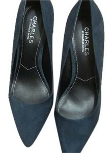 Charles by Charles David Navy Blue Suede Pumps