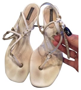 Louis Vuitton Cream/beige Sandals