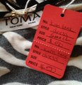 TOMA short dress ZEBRA STRIPED-BLACK AND WHITE Soft Inside on Tradesy Image 3