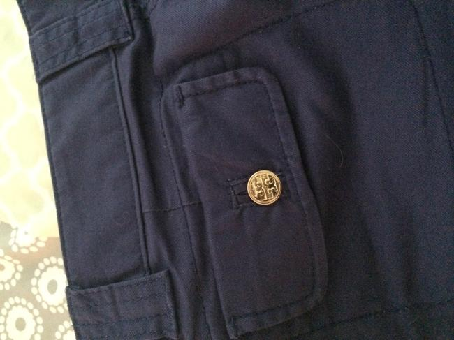 Tory Burch Cuffed Shorts Navy blue