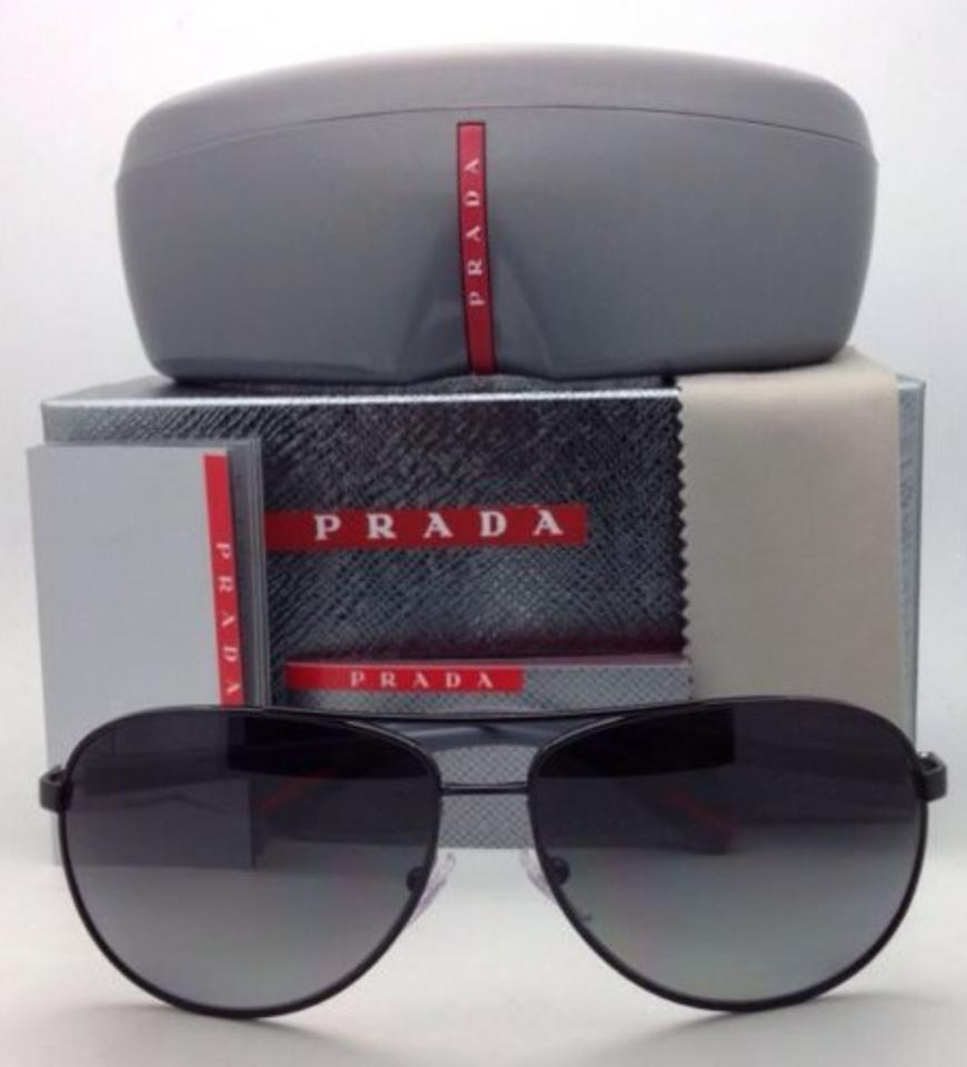 087c73208a Prada Aviator Sunglasses Sps 51l Grey