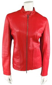 Jil Sander Embroidered Biker Biker Moto Motorcycle Jacket