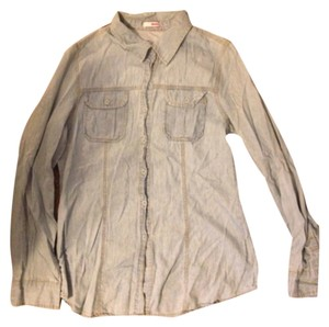 Bongo Button Down Shirt Light wash