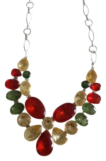 Preload https://item2.tradesy.com/images/mulyicolor-glass-necklace-1084931-0-0.jpg?width=440&height=440