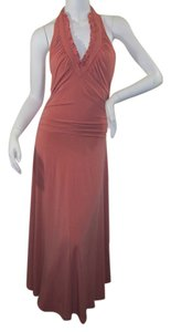 Pumpkin Maxi Dress by Shape FX Halter