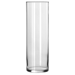 Glass Pillar Holder Cylinder Vases 10.5 In