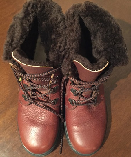 Blondo Leather Winter Snow Leather Snow Brown Boots Image 2