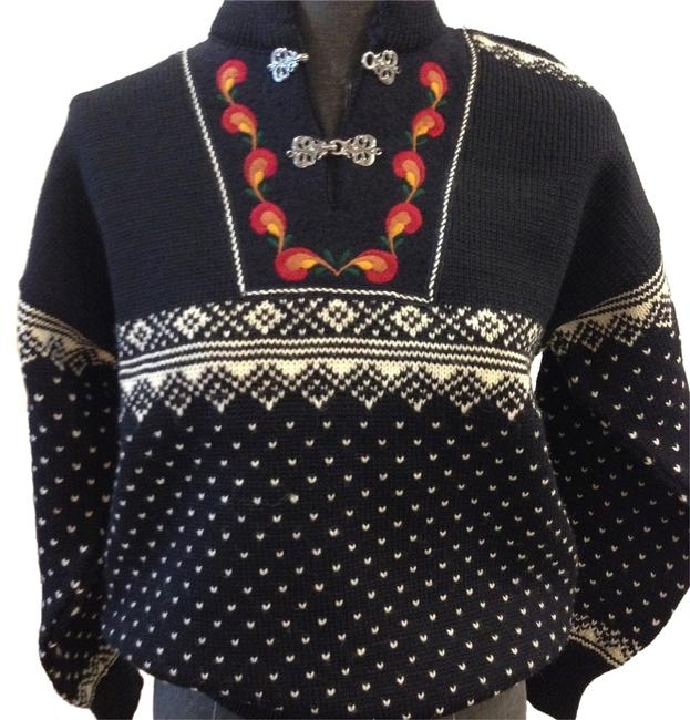 Preload https://img-static.tradesy.com/item/10850437/dale-of-norway-navy-white-red-rust-green-gold-womens-sweaterpullover-size-2-xs-0-2-650-650.jpg