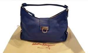 Salvatore Ferragamo Hobo Fansia Shoulder Bag