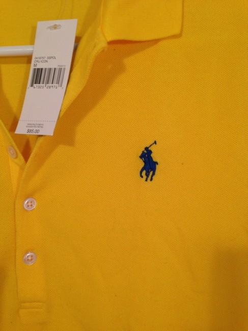 Ralph Lauren Polo Rl Sporty Chic Cool Preppy Summer Spring Trend Top Yellow Image 1