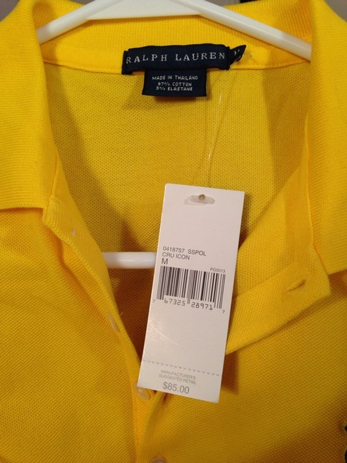Ralph Lauren Polo Rl Sporty Chic Cool Preppy Summer Spring Trend Top Yellow Image 5