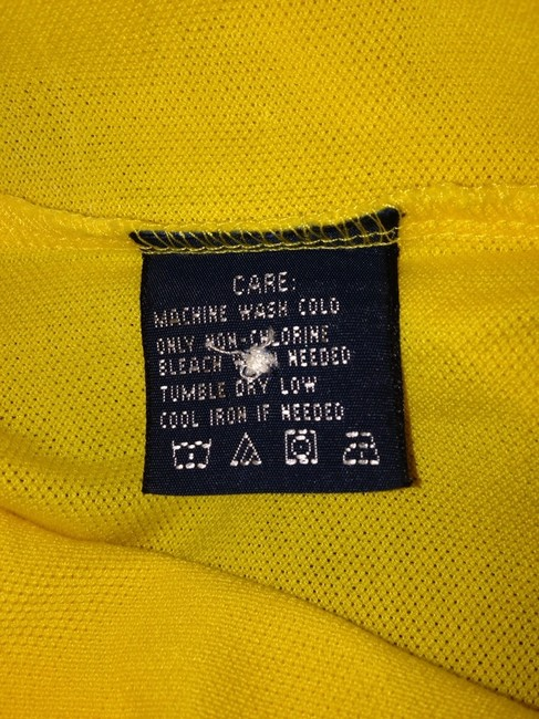 Ralph Lauren Polo Rl Sporty Chic Cool Preppy Summer Spring Trend Top Yellow