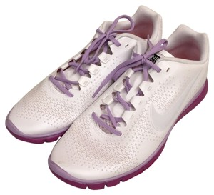 Nike White with purple trim Athletic