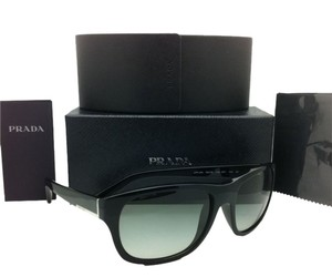 Prada New PRADA Sunglasses SPR 29N 1AB-3M1 58-18 Black Frame w/ Grey gradient lenses