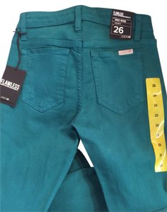 JOE'S Jeans Joes Denim Stretch Skinny Pants Green Size 26