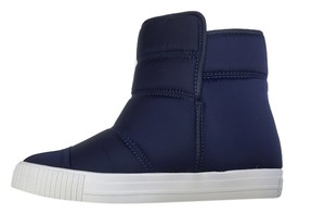Fifth City Puffer Bootie Athletic Navy Boots