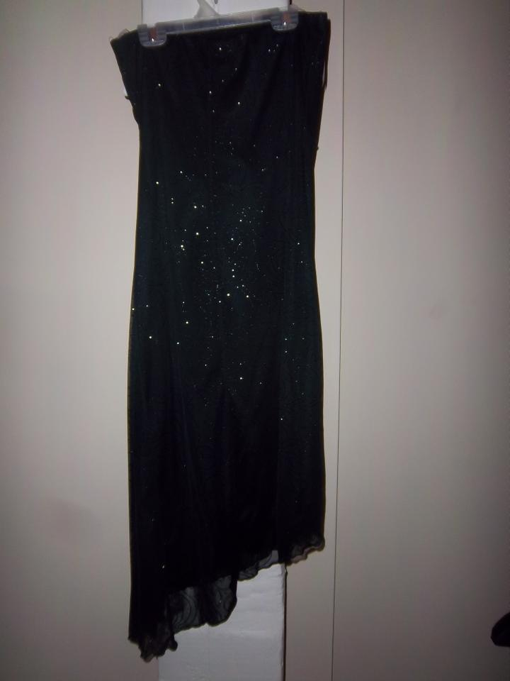 Charlotte Russe Black Cocktail Long Formal Dress Size 8 M Tradesy