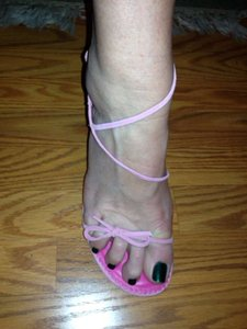 Lilly Pulitzer New Suede Sexy 9 Cameo Pink Sandals