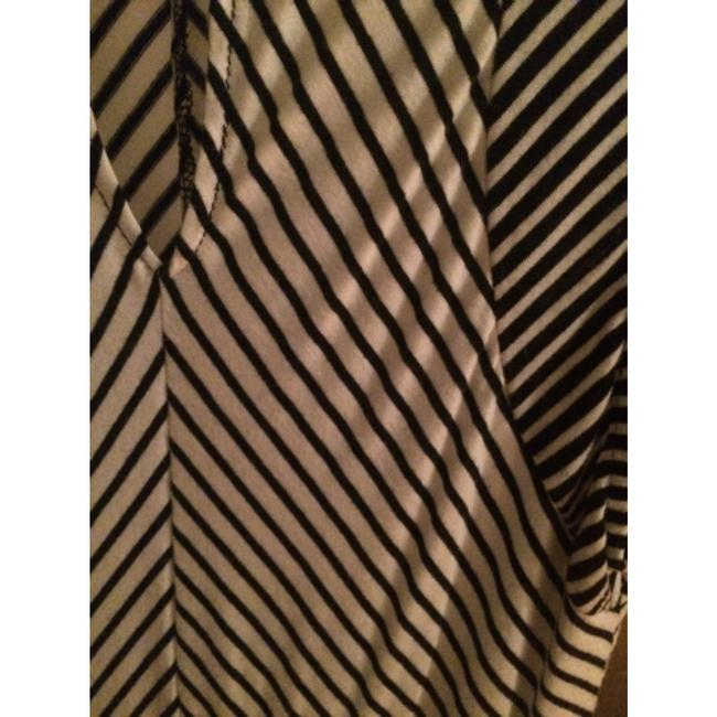 Marshalls short dress Black, white Striped And Cotton Comfortable Mod Office Work on Tradesy Image 2