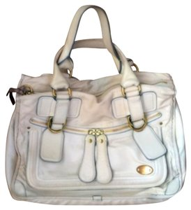 Chloé Satchel in Off white
