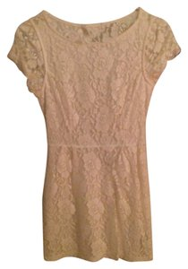 Forever 21 short dress White Lace Romantic Bridal on Tradesy