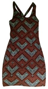 Target short dress Multi Bodycon Tribal Print on Tradesy