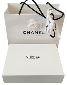 Chanel RARE 31 RUE CAMBON PARIS FOR MINI FLAP BAG OR WOC BAG GIFT BOX STORAGE + Cleaning cloth
