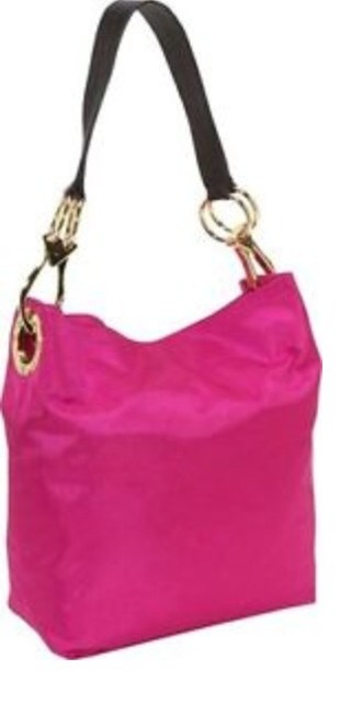 Item - Bucket Fushia Hot Pink Nylon Shoulder Bag