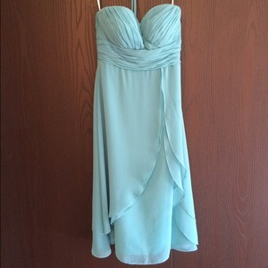 Bill Levkoff Tiffany Blue Dress