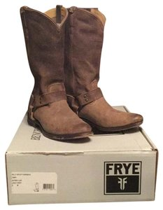 Frye Light Greyish Brown Boots