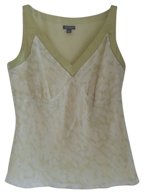 Preload https://item1.tradesy.com/images/ann-taylor-pale-lime-green-camisole-silk-v-neck-sleeveless-tank-topcami-size-petite-4-s-1085380-0-0.jpg?width=400&height=650