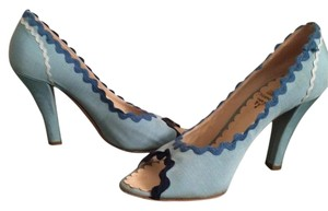 Moschino Blue Pumps