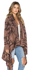 ASOS Cardigan Aztec Winter Boho Brown Jacket
