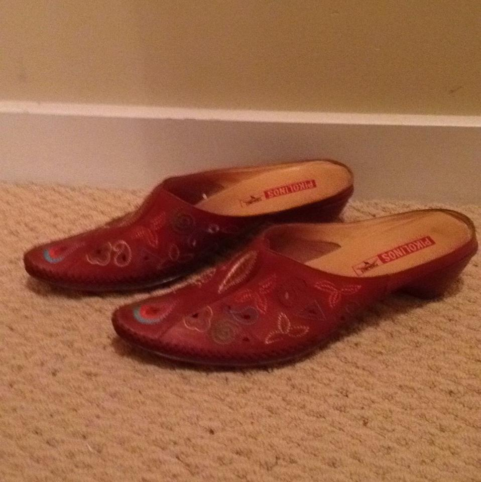 lady PIKOLINOS Brown Mules/Slides Mules/Slides Mules/Slides Really 2a282e