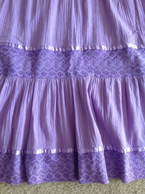 Violet Lavender Maxi Dress by H&M Indian Cotton