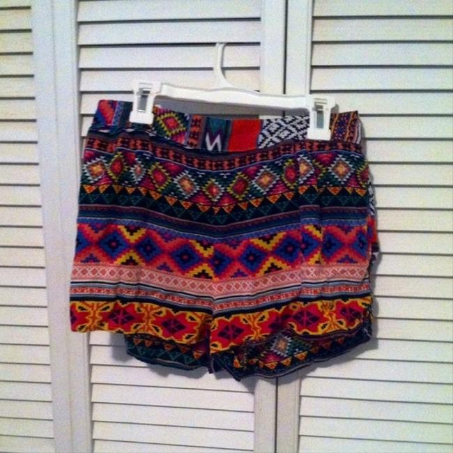 Other High Waisted Sexy Mini/Short Shorts Aztec Print