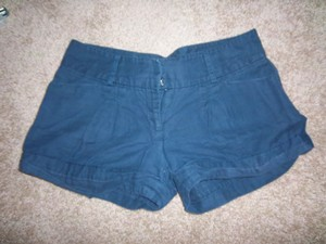 Forever 21 Cuffed Shorts navy
