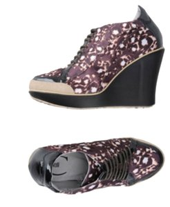 Just Cavalli Roberto Brown Leopard Print Boots
