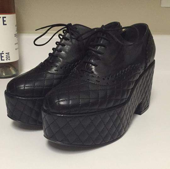 Chanel Blac Wedges