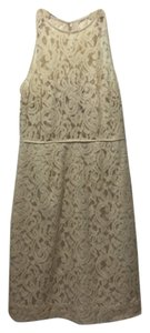 J.Crew short dress Champagne on Tradesy