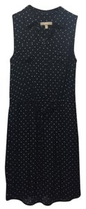 Banana Republic short dress Navy and white on Tradesy