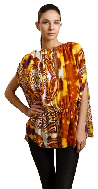 Preload https://item5.tradesy.com/images/just-cavalli-butterfly-print-silk-tunic-size-6-s-1085794-0-0.jpg?width=400&height=650