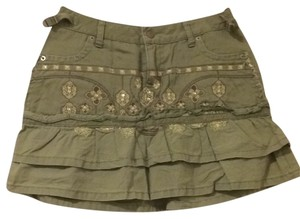Da-Nang Mini Skirt Green