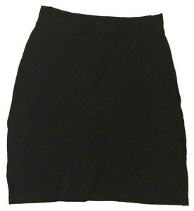 bebe Mini Skirt Blac