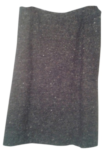 Piazza Sempione Grey Black Tweed Skirt Size 8 (M, 29, 30) Piazza Sempione Grey Black Tweed Skirt Size 8 (M, 29, 30) Image 1