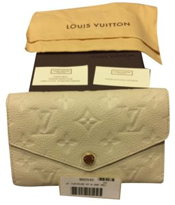 Louis Vuitton Louis Vuitton Empreinte Monogram Off White Wallet