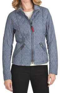 Bogner Quilted Fire + Ice New With Tags Lt Blue Jacket