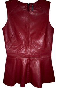 Walter Barker Red Halter Top