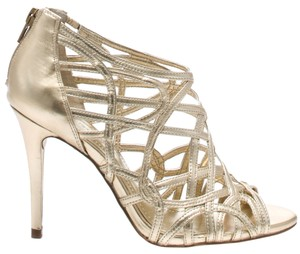 BCBGeneration Gold Tulle Sandals